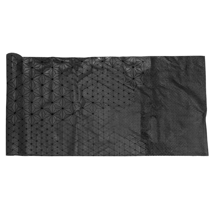 Mika Barr - Tamara Table Runner, 220 x 50 cm, black