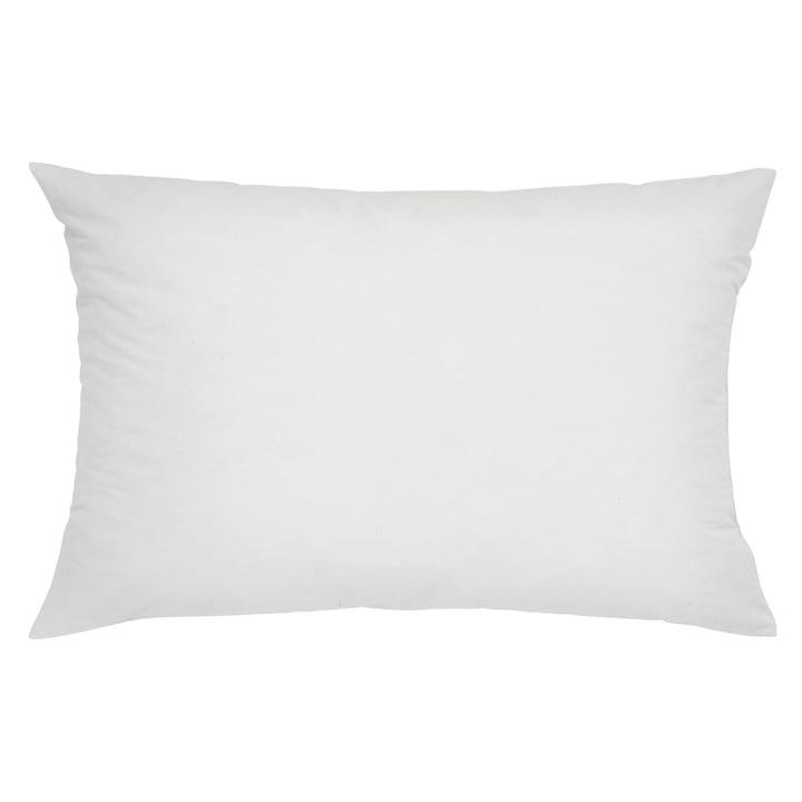 Mika Barr - cushion filling microfibre 60 x 30 cm, white