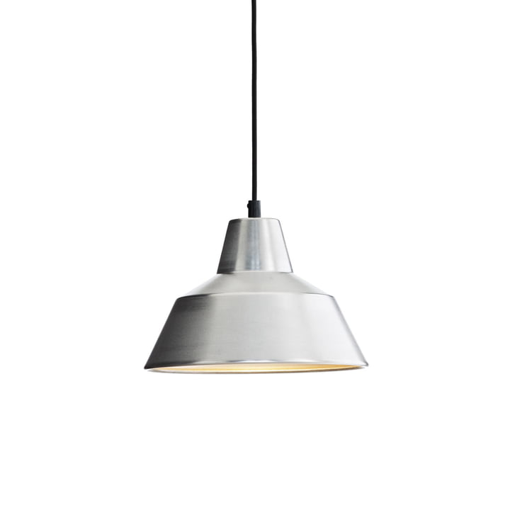 Workshop Lamp W2 by Made by Hand in Aluminium / Black