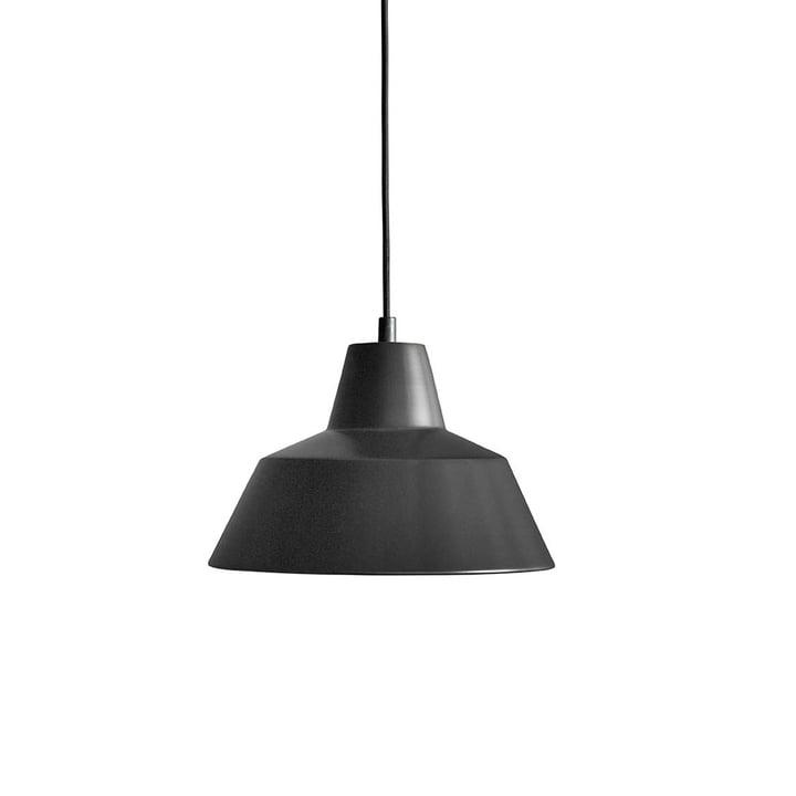 Workshop Lamp W2 by Made by Hand in Matt Black / Black