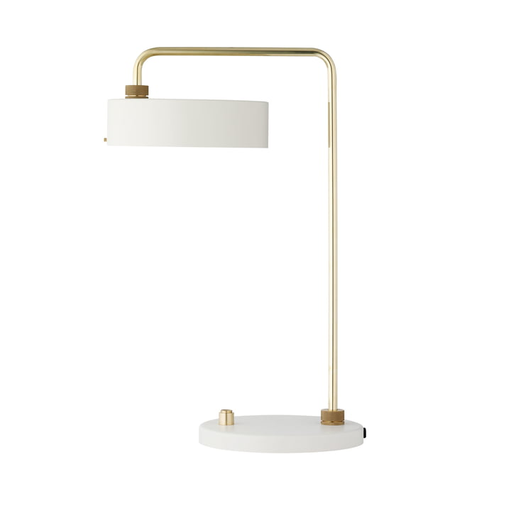 The Made by Hand - Petite Machine Table Lamp in White