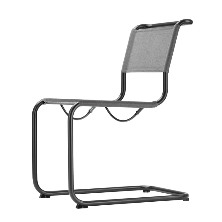 S 33 N All Season Chair by Thonet in Black / Anthracite
