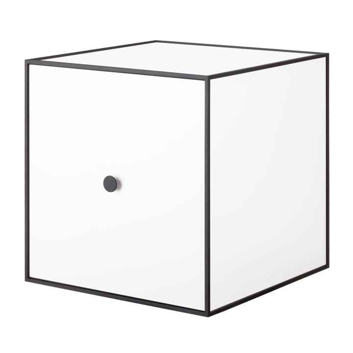 Frame wall cabinet 35 (incl. door) by Lassen in white