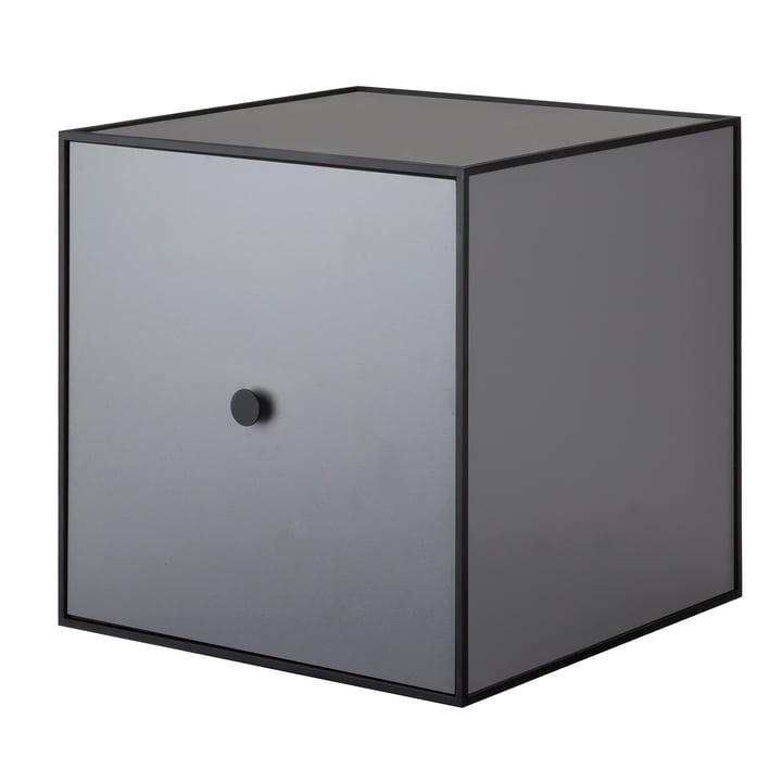 by Lassen - Frame Cabinet 35 (incl. door), dark grey