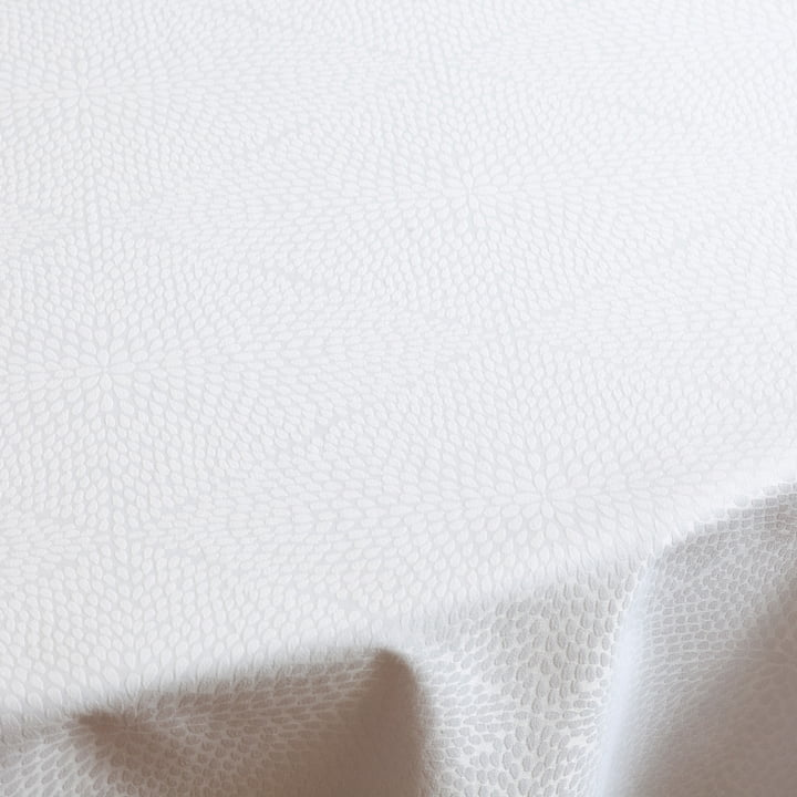 The Juna - Rhombus Tablecloth in White
