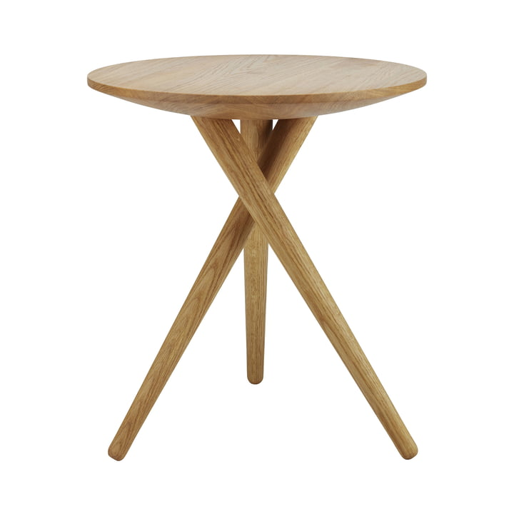 Side Table 1025 by Thonet in oiled oak