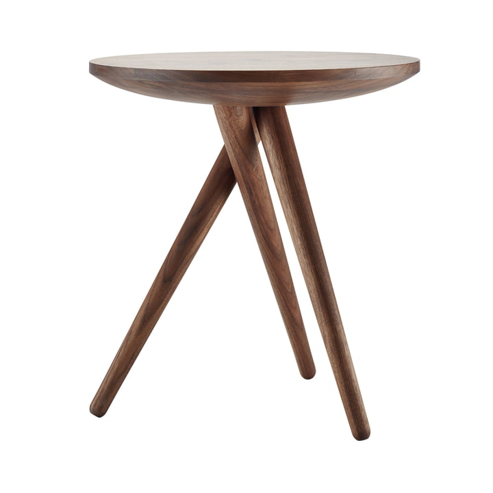 Side Table 1025 by Thonet in Oiled Walnut
