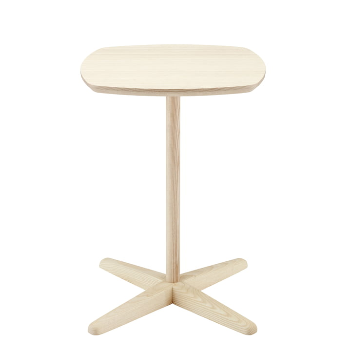 1861 Side Table by Thonet out of Oiled Ash