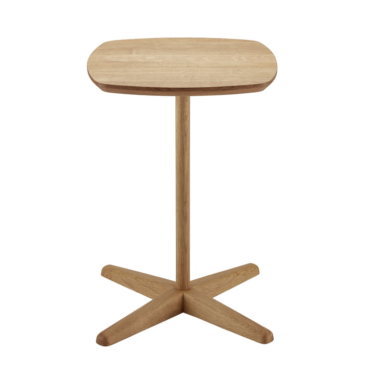 1861 Side Table by Thonet out of Oiled Oak