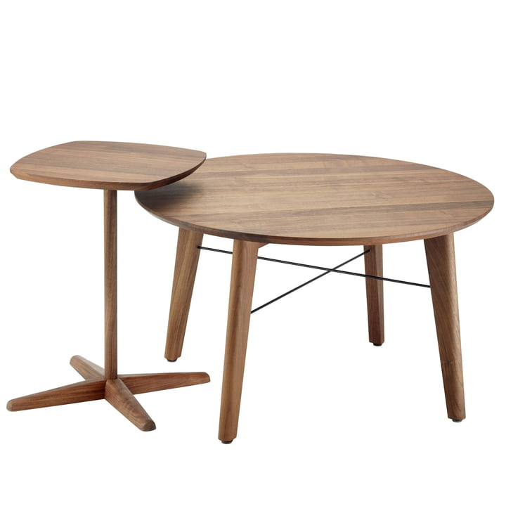 1861 Side Table and S 1860 Coffee Table by Thonet
