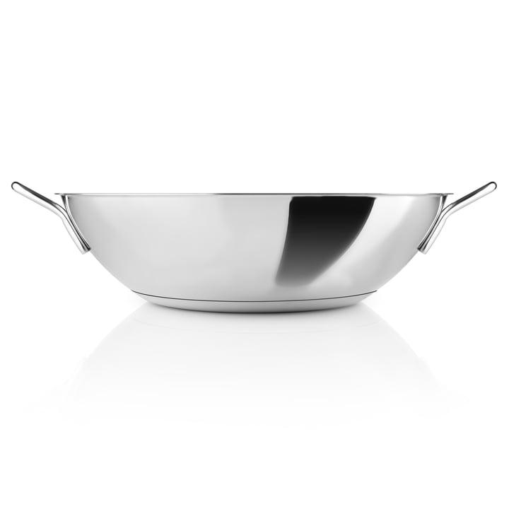 Eva Trio - Wok 5 l Ø 32 cm, Stainless Steel