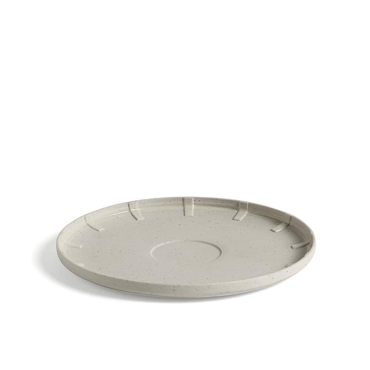 Paper Porcelain Saucer Ø 14.5 cm by Hay in light grey
