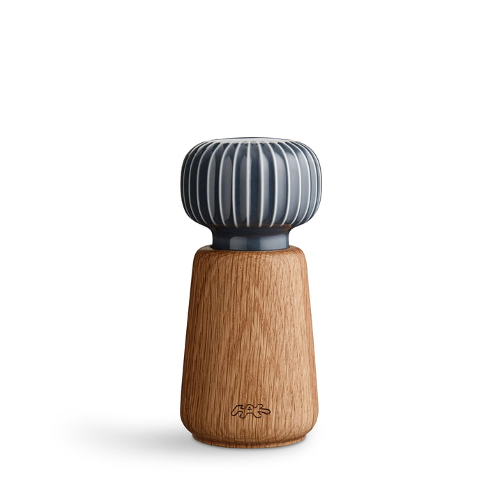 Kähler Design - Hammershøi Salt and pepper mill, small, anthracite