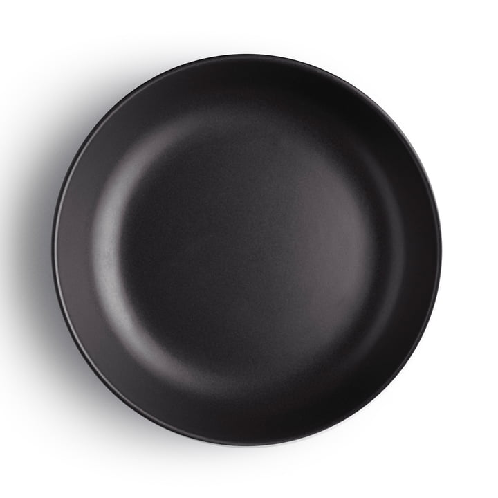 Eva Solo - Nordic Kitchen Deep Plate Ø 20 cm, black
