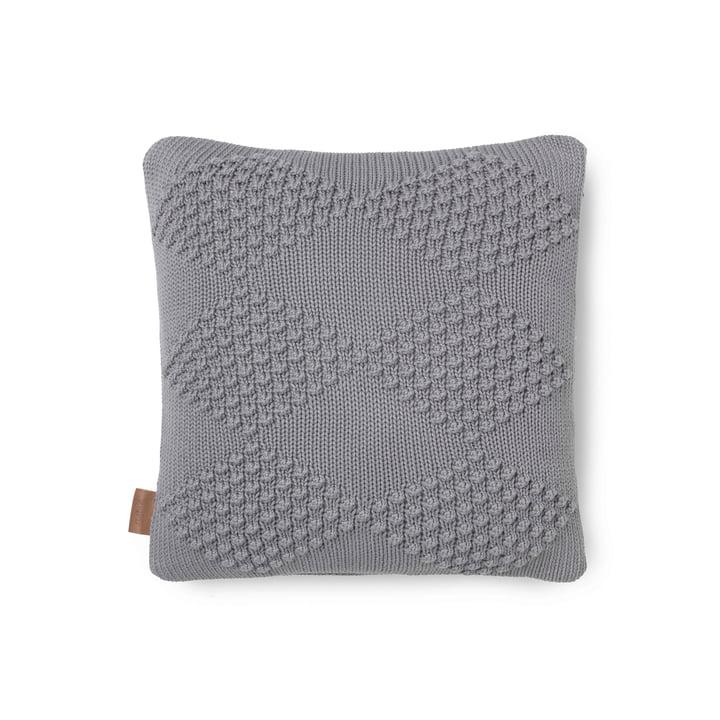 Diamond Cushion 45 x 45 cm by Juna in Grey