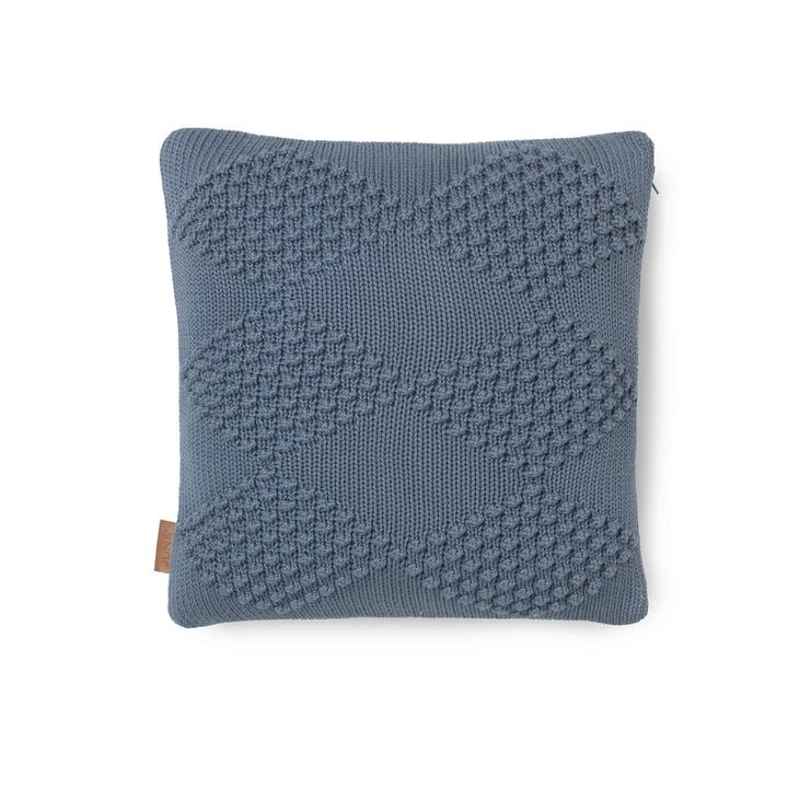 Diamond Cushion 45 x 45 cm by Juna in Smoke Blue
