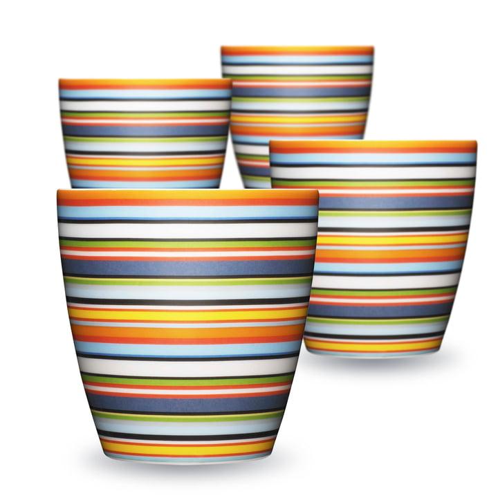Iittala - Origo Mugs  0.25 (Set of 4)l, orange