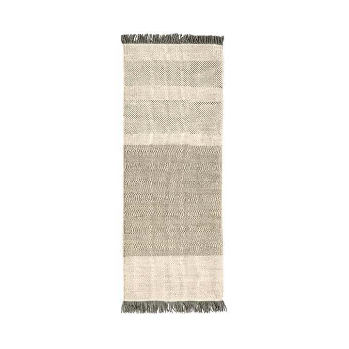 The nanimarquina - Tres Stripes 80 x 240 cm in perle
