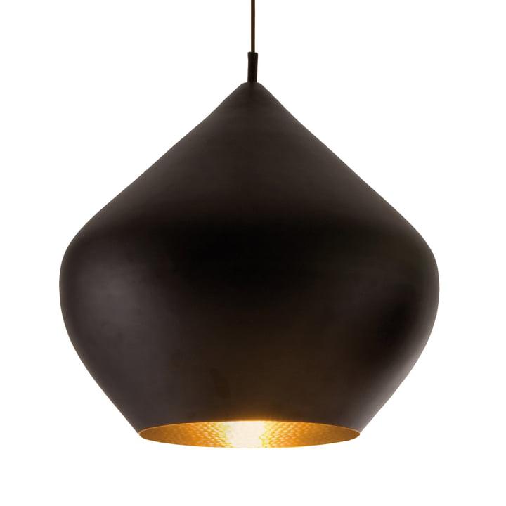 Beat Light Stout Pendant Lamp by Tom Dixon in Black