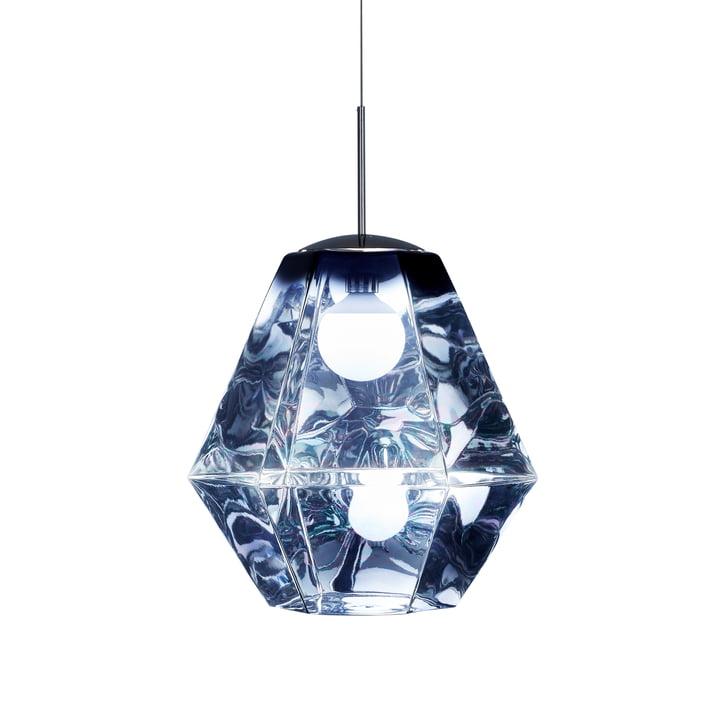 Cut Pendant Lamp by Tom Dixon in Long / Smoke