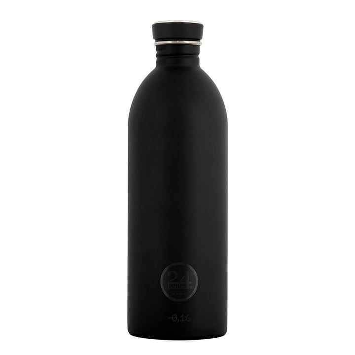 24Bottles - Urban Bottle 1.0 l, black