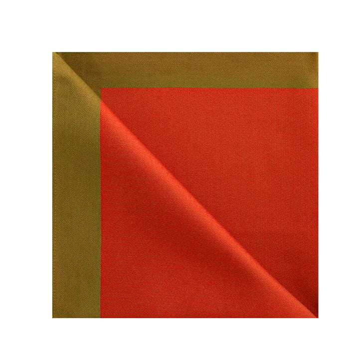 Damask fabric napkins from Georg Jensen Damask in Christmas red