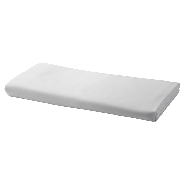 Fitted sheet by Georg Jensen Damask in white