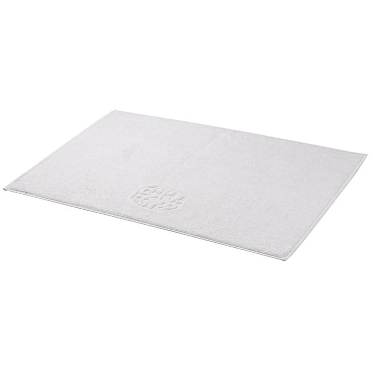 The Georg Jensen Damask - Damask Terry bathroom mat in white