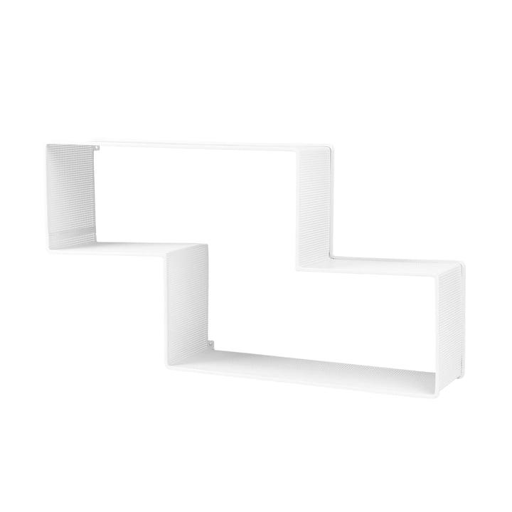 Dédal Bookshelf by Gubi in White Cloud