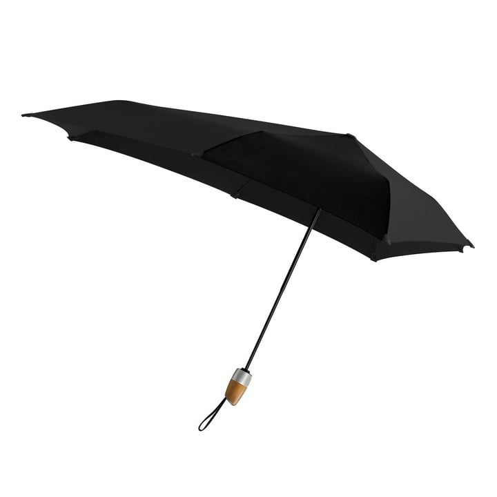 Umbrella Automatic DELUXE by Senz in pure black