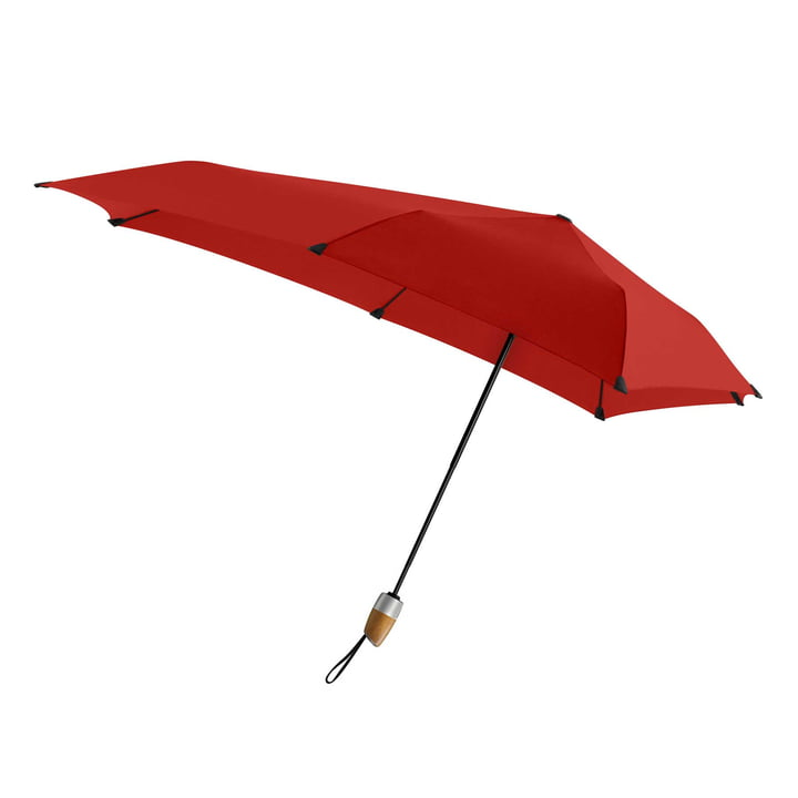 Umbrella Automatic DELUXE by Senz in paraplu passion red