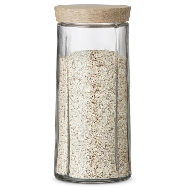 Grand Cru Storage Jar with Oak Lid, 2.0 L by Rosendahl