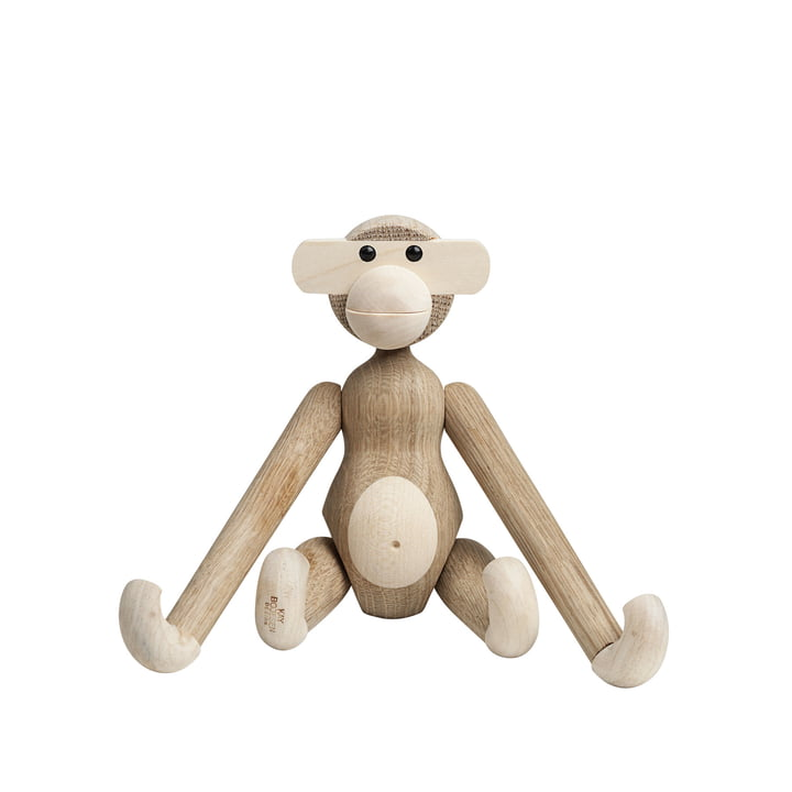 Wooden monkey small from Kay Bojesen in maple / oak nature