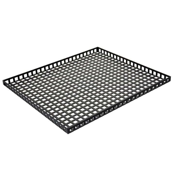 Pulpo - Tray, 35 x 30 cm, black