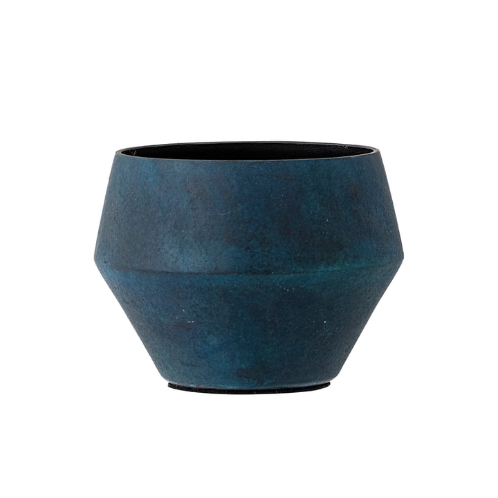 Tealight Holder out of Aluminium by Bloomingville in Blue