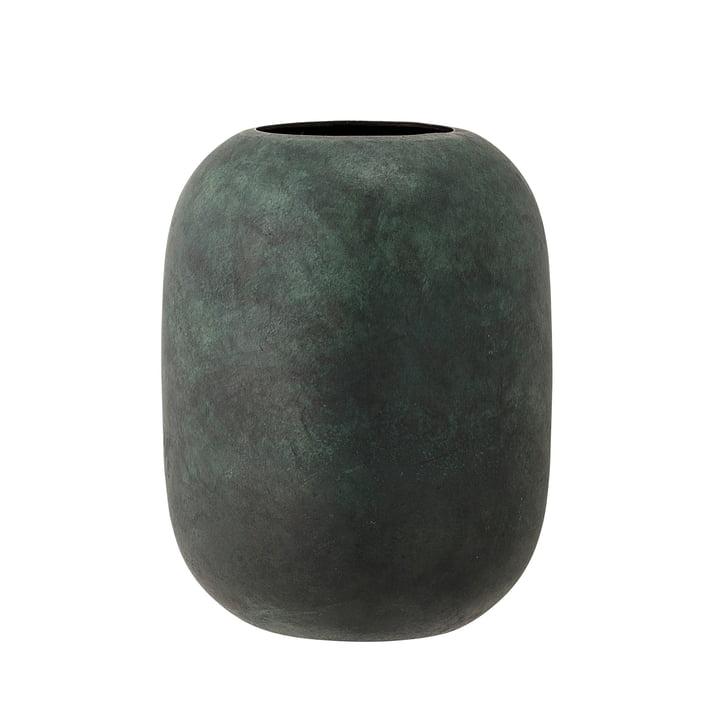 The Bloomingville - Metal Vase, H 18 cm in green