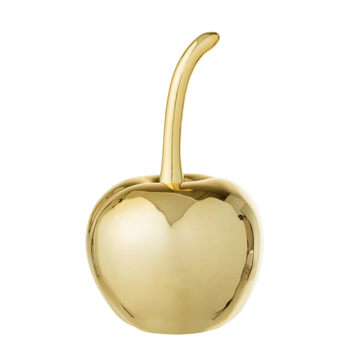 Decorative Cherry Ø 9.5, H 16.5 cm by Bloomingville in Gold