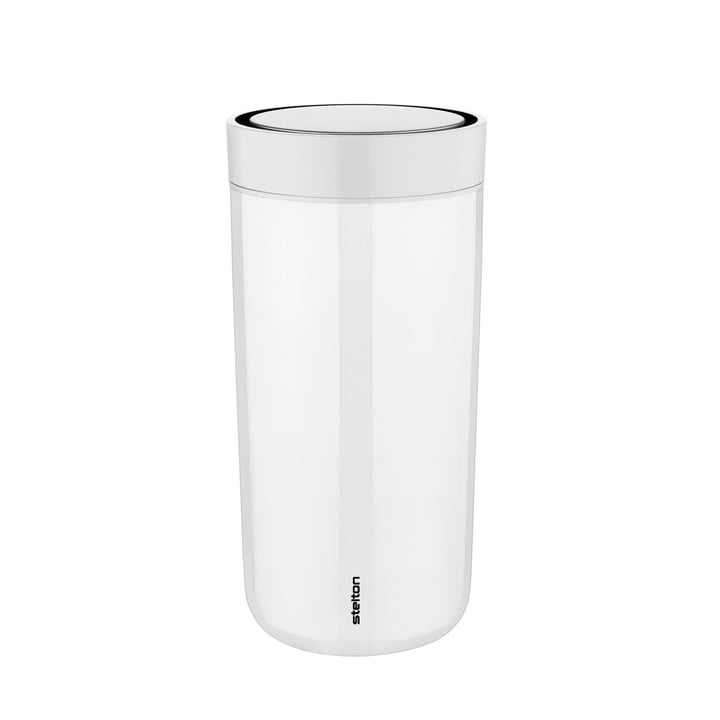 To Go Click 0.4 l from Stelton in Steel Chalk