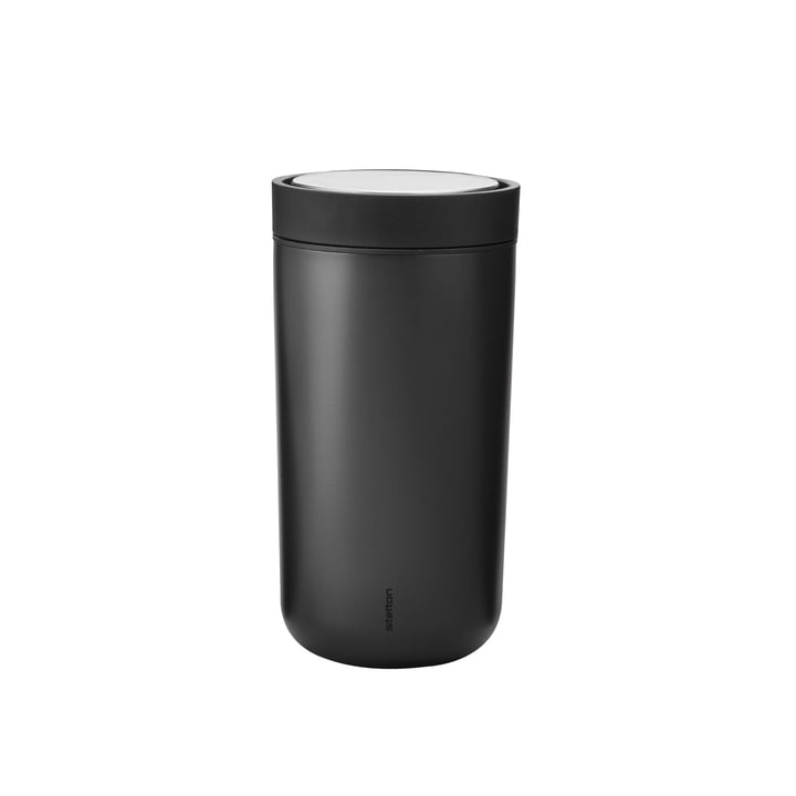 To Go Click 0,2 l from Stelton in black Metallic