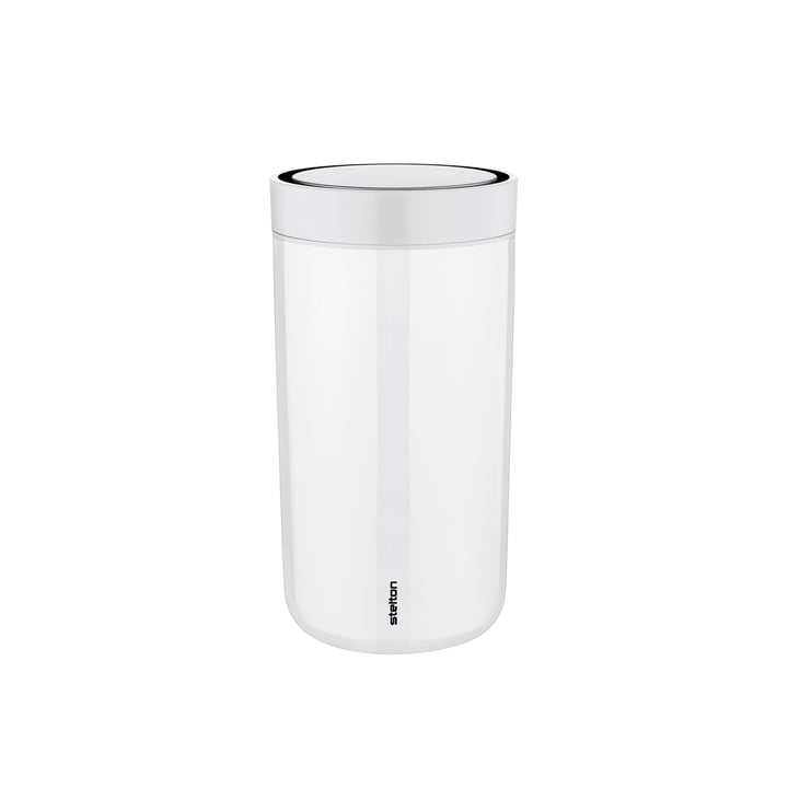 To Go Click 0.2 l from Stelton in Steel Chalk