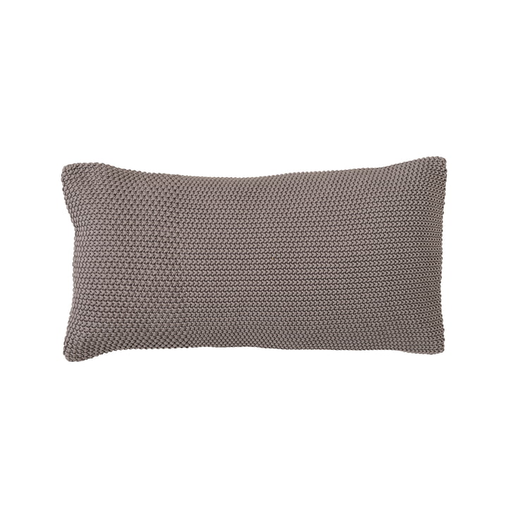 Cotton Cushion 30 x 60 cm by Bloomingville in Grey