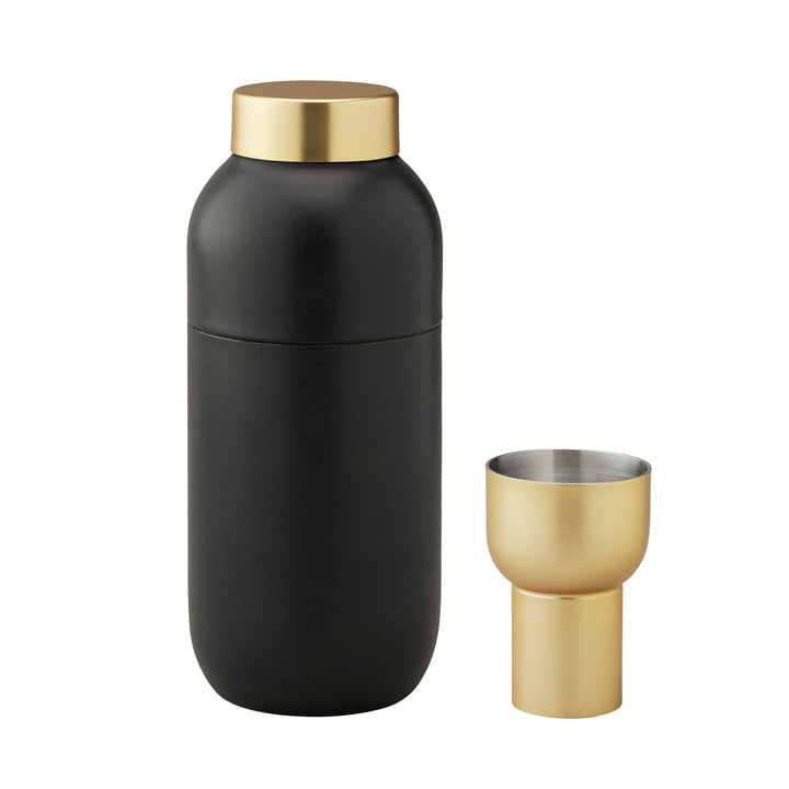 Collar Cocktail Shaker 500 ml and Measuring Cup by Stelton