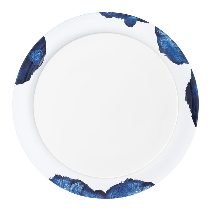 Stockholm Platter by Stelton in Aquatic