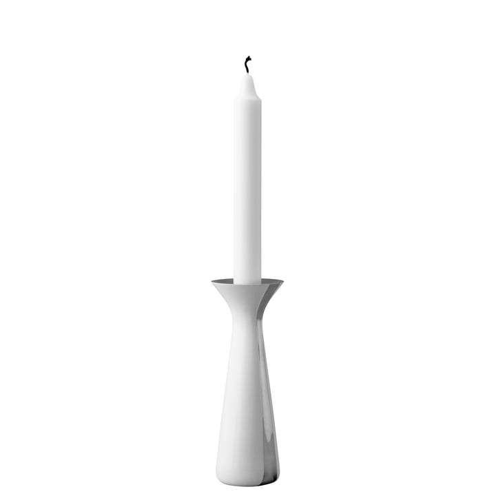 Unified Candleholder H 17 cm by Stelton in White