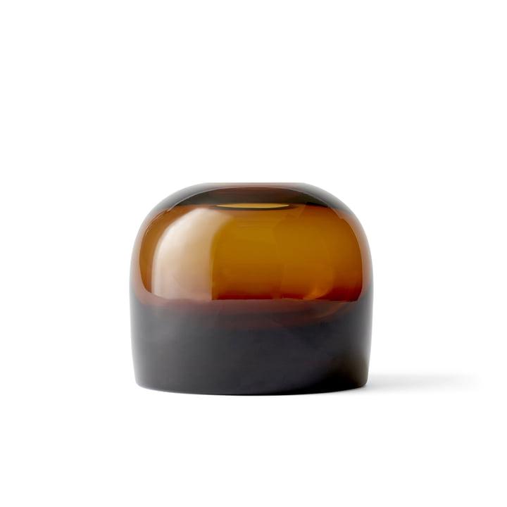 Troll Vase M by Menu in Amber