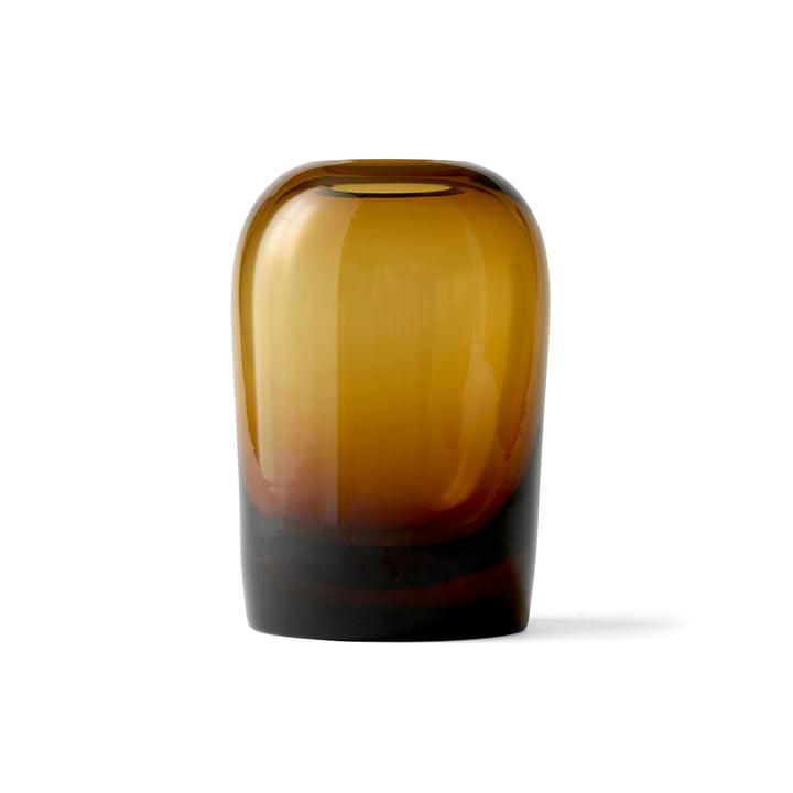 Troll Vase L by Menu in Amber
