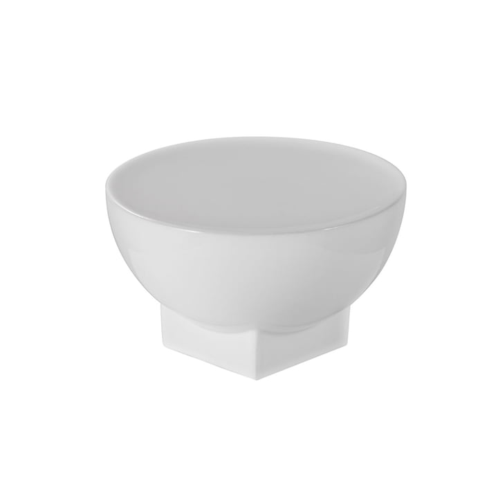 Mila Bowl, Small, H 12 x Ø 20 cm by Pulpo in White