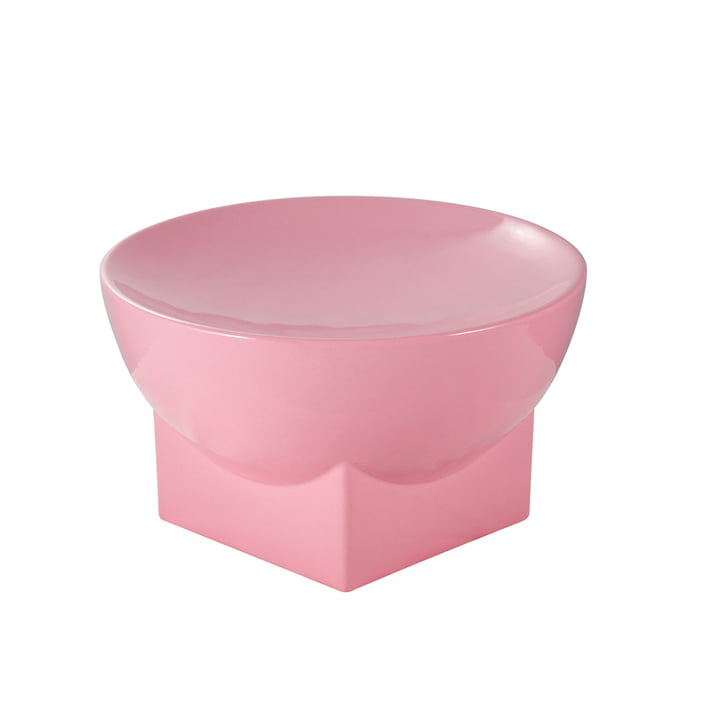 Mila Bowl, Large, H 16 x Ø 28 cm by Pulpo in Pink