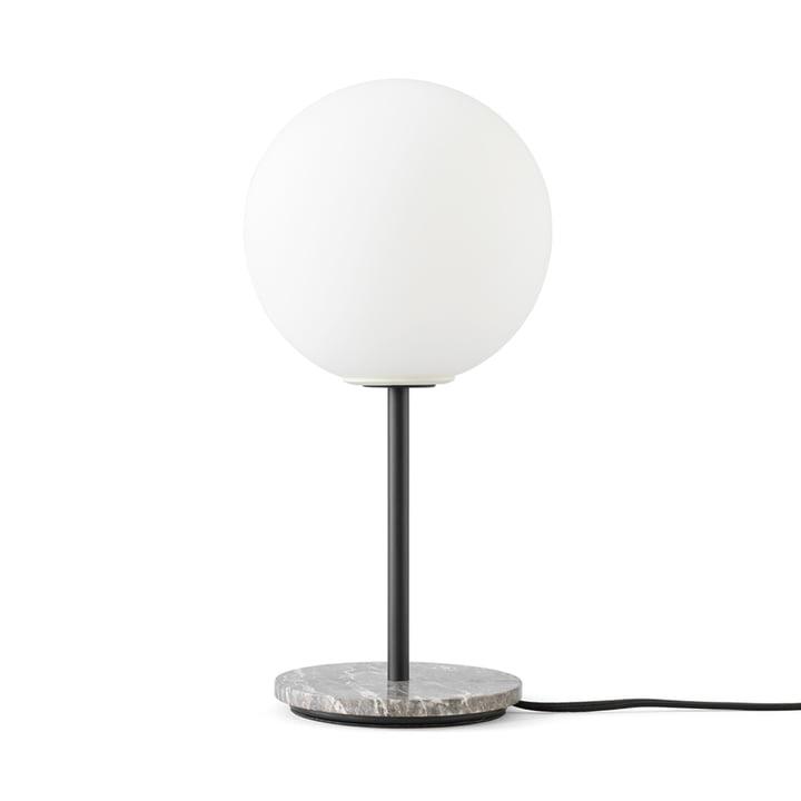 TR Table lamp from Menu in grey marble / matt opal light source