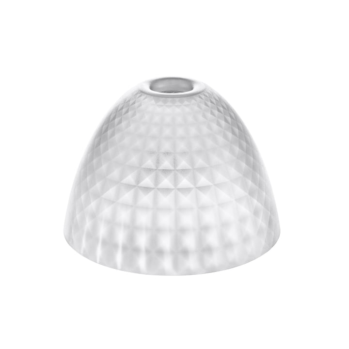 The Koziol - Stella Silk Lampshade S in transparent clear